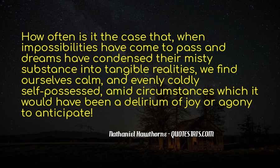 Quotes About Delirium #1191200