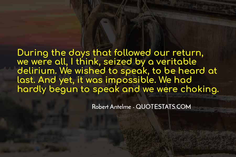 Quotes About Delirium #434088