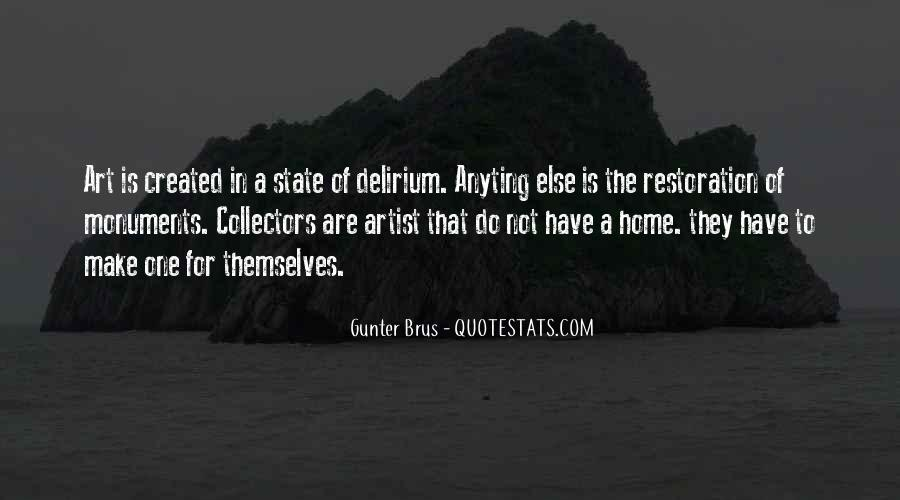 Quotes About Delirium #477909