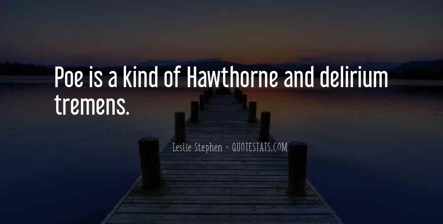 Quotes About Delirium #486517
