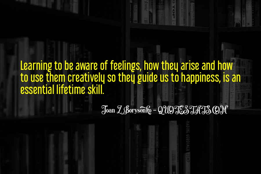 Quotes About Lifetime Happiness #1467560