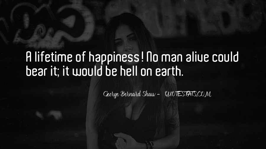 Quotes About Lifetime Happiness #1808495