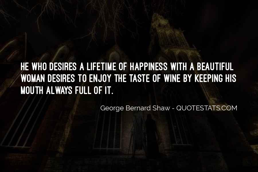 Quotes About Lifetime Happiness #232297