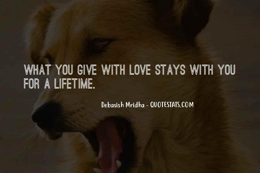 Quotes About Lifetime Happiness #775451