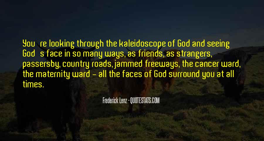 Quotes About Seeing The Face Of God #1639086