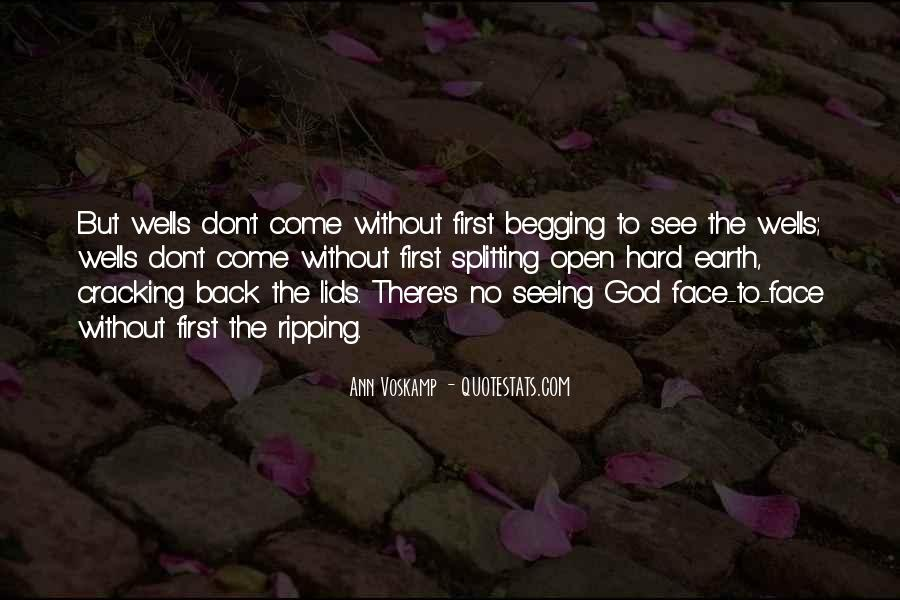 Quotes About Seeing The Face Of God #1759967
