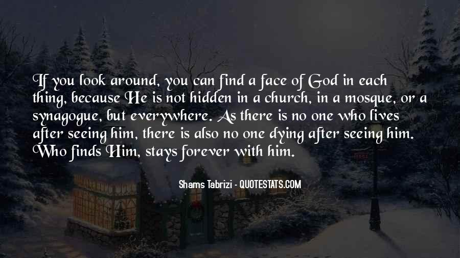 Quotes About Seeing The Face Of God #1809967