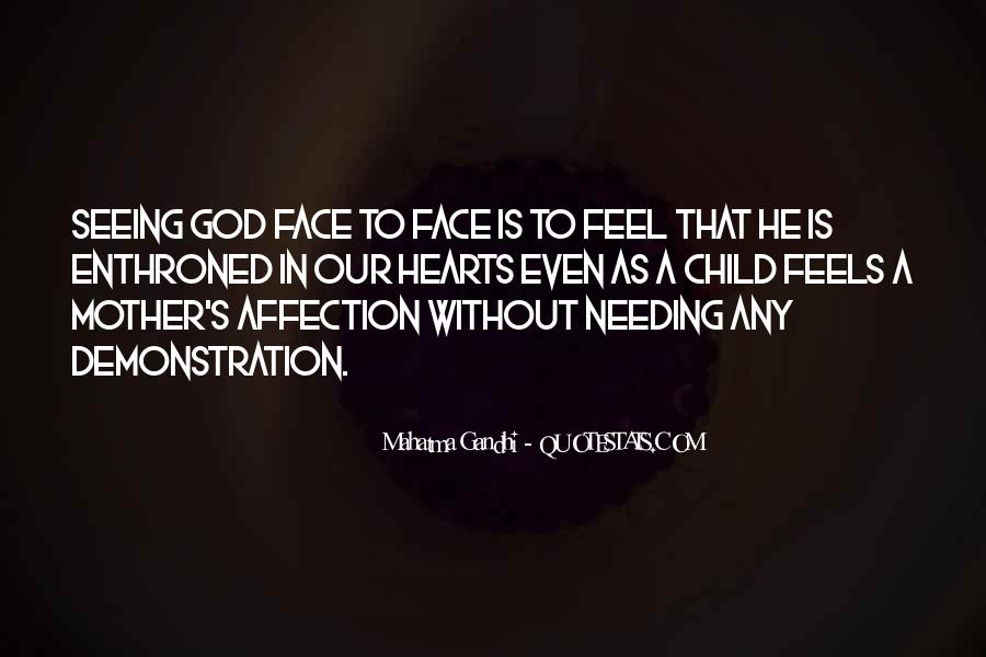 Quotes About Seeing The Face Of God #433209