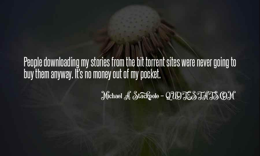 Quotes About Pocket Money #1113610