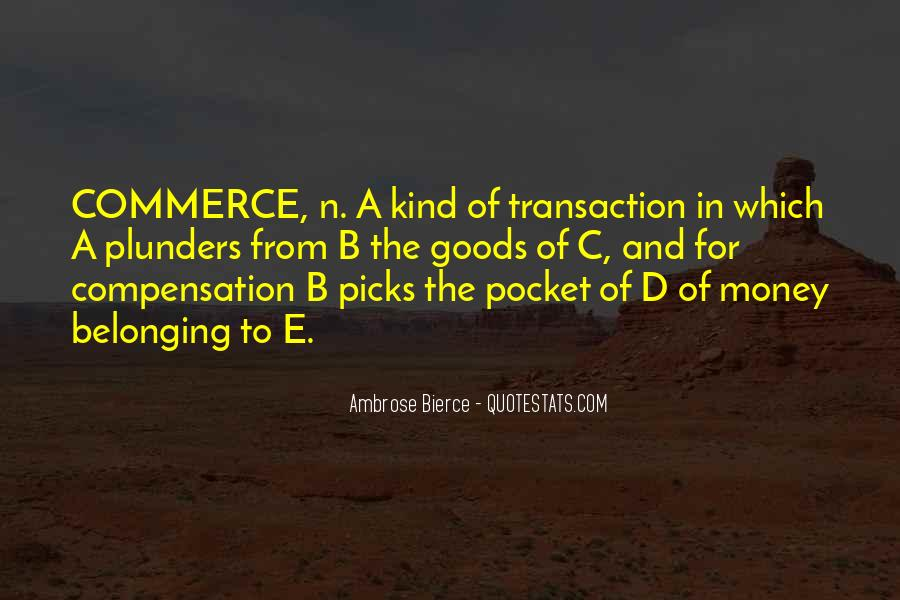 Quotes About Pocket Money #1126177