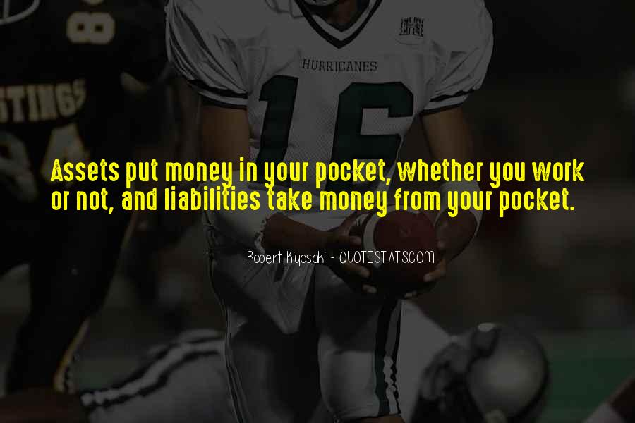 Quotes About Pocket Money #1156185