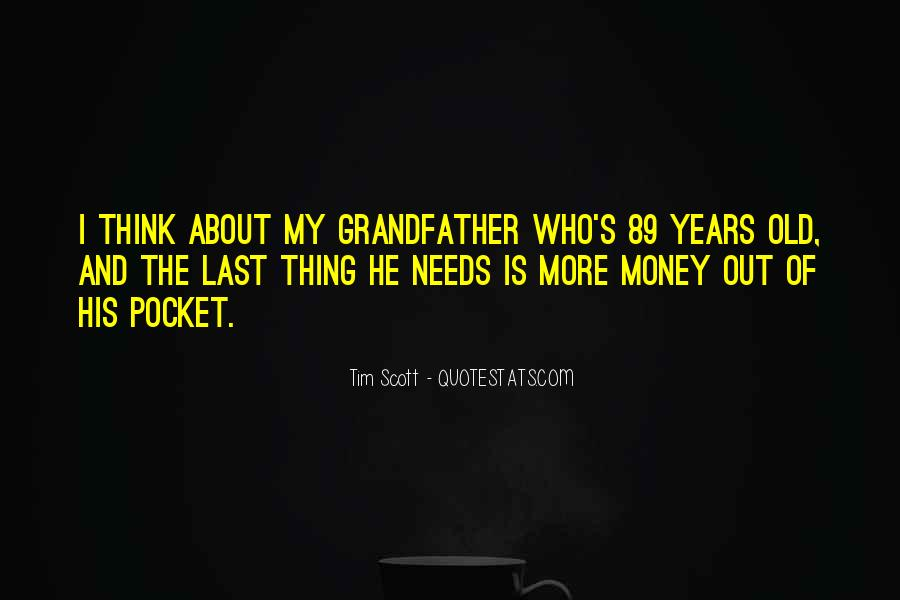Quotes About Pocket Money #1244267