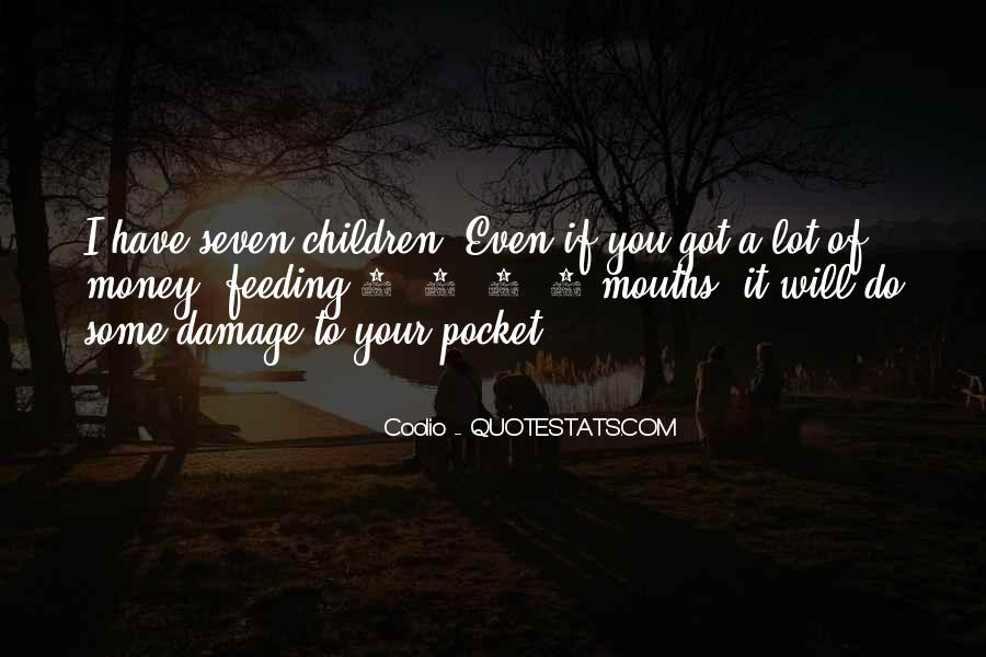 Quotes About Pocket Money #1341332