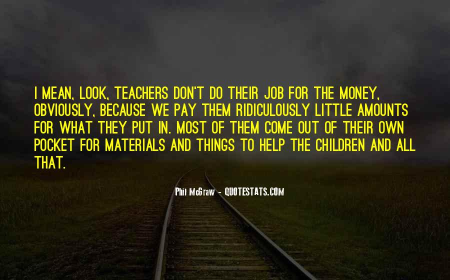 Quotes About Pocket Money #1637529
