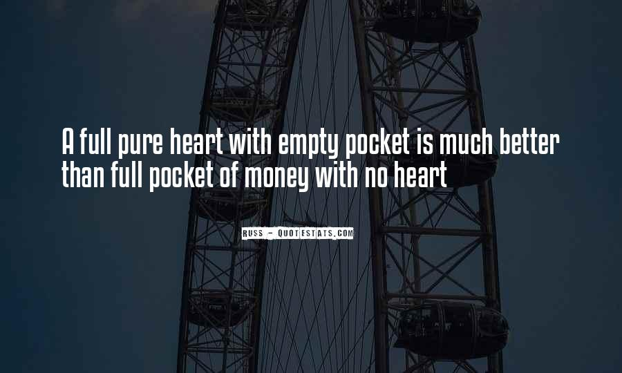 Quotes About Pocket Money #1750200