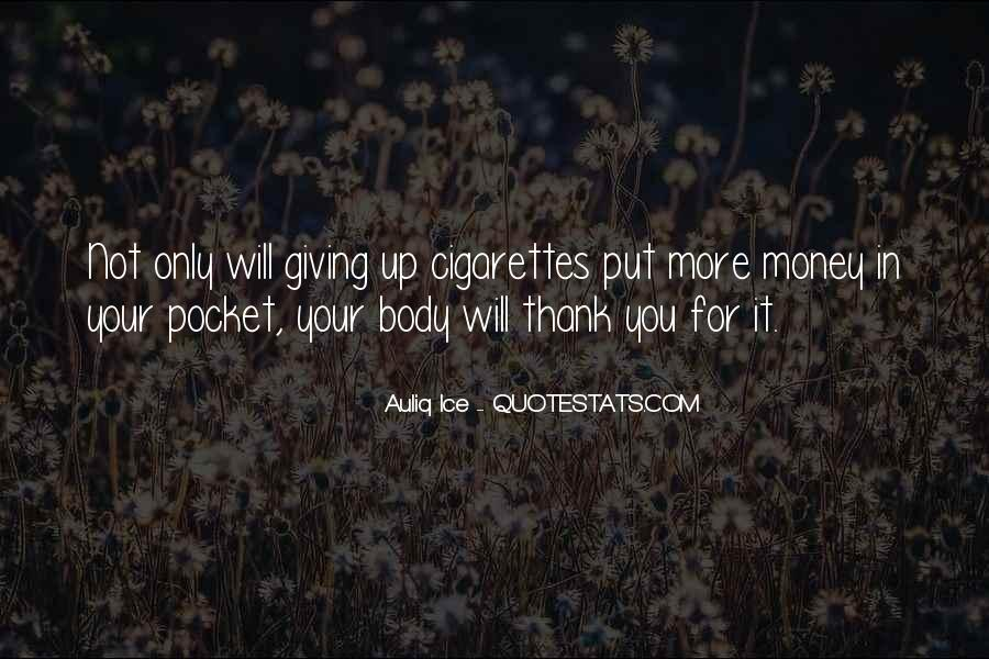 Quotes About Pocket Money #259174