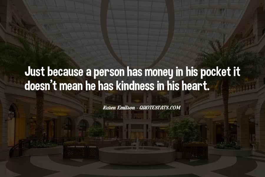 Quotes About Pocket Money #366602
