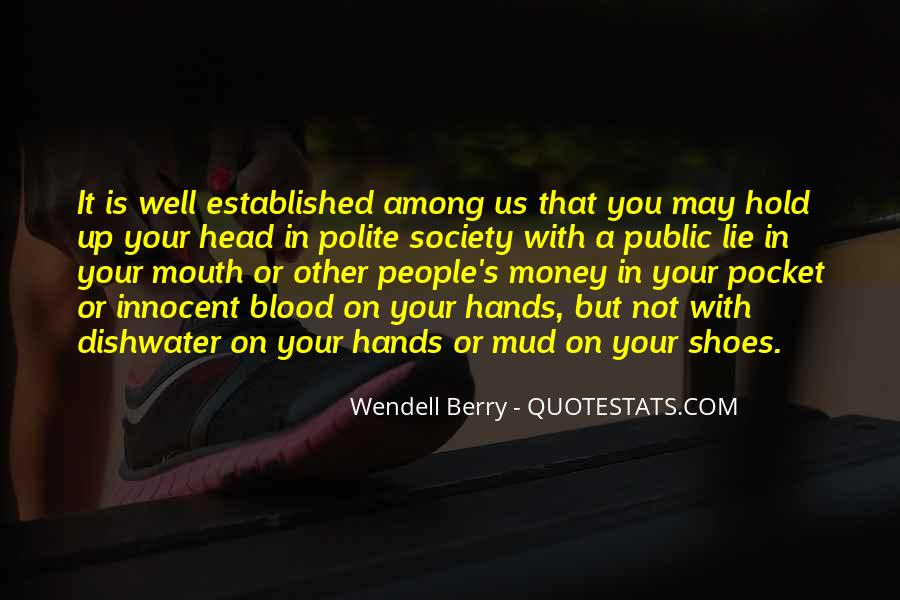 Quotes About Pocket Money #388537