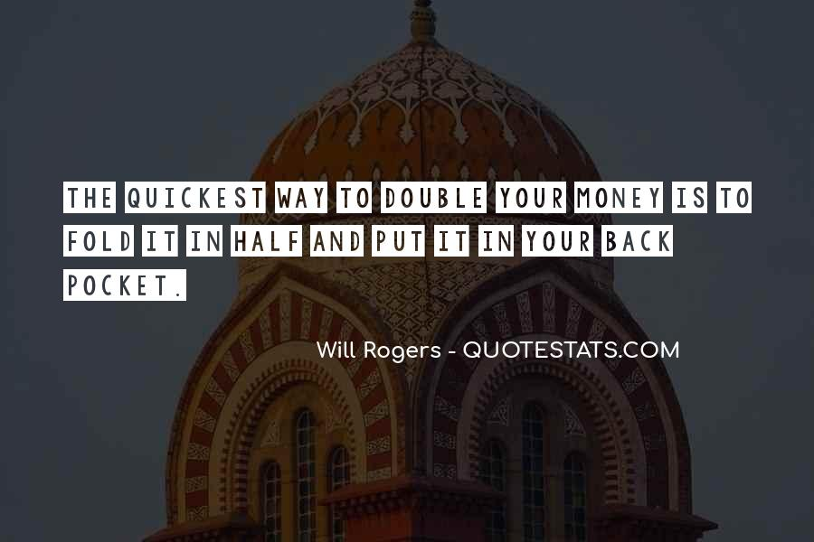 Quotes About Pocket Money #519352