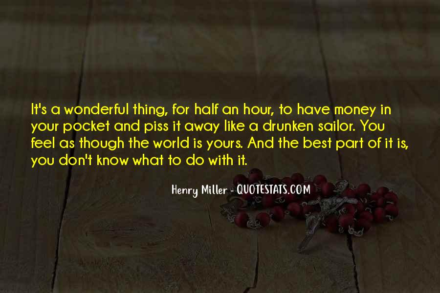 Quotes About Pocket Money #650571