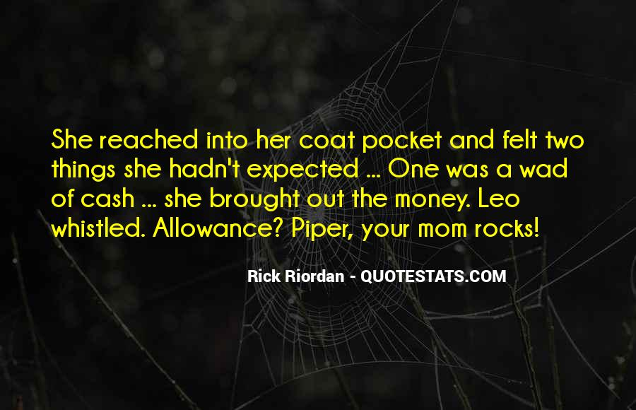 Quotes About Pocket Money #690857