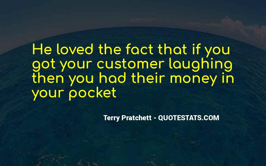 Quotes About Pocket Money #834245