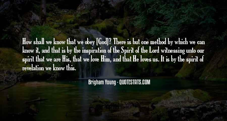 Quotes About Witnessing Love #515616