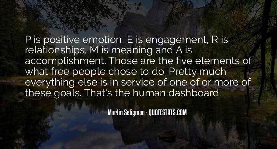 Quotes About Five Elements #21856
