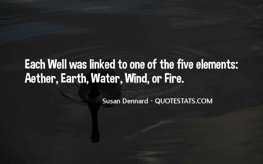 Quotes About Five Elements #385930