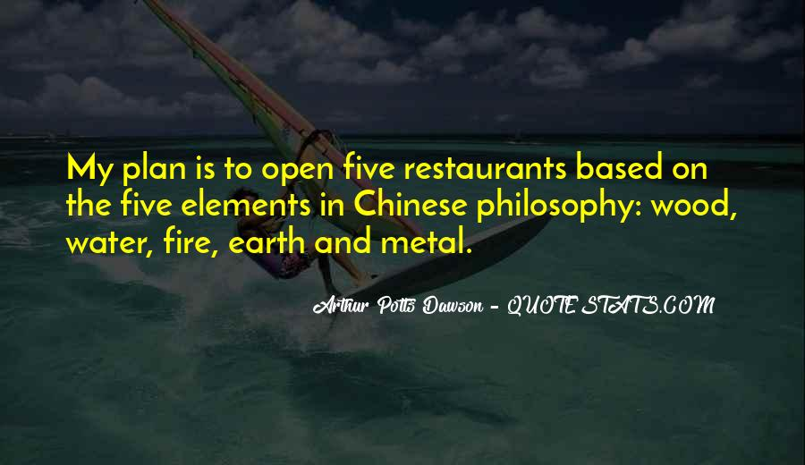 Quotes About Five Elements #834875