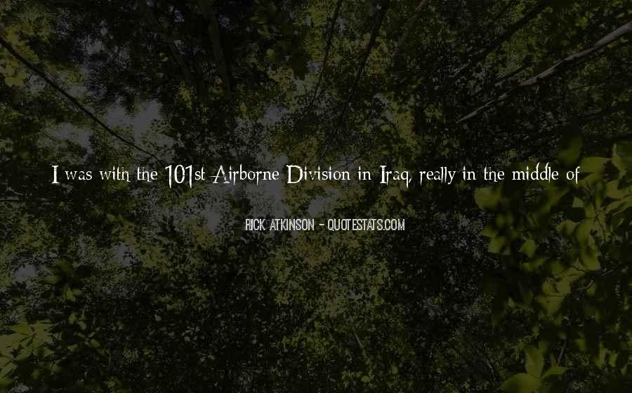 Quotes About The 101st Airborne #1062161