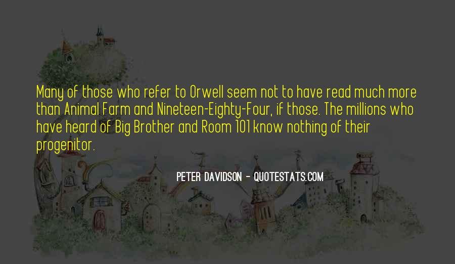 Quotes About Room 101 #1299534