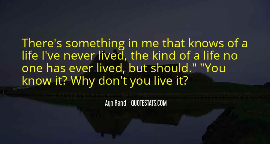 Quotes About No One Knows Me #34105