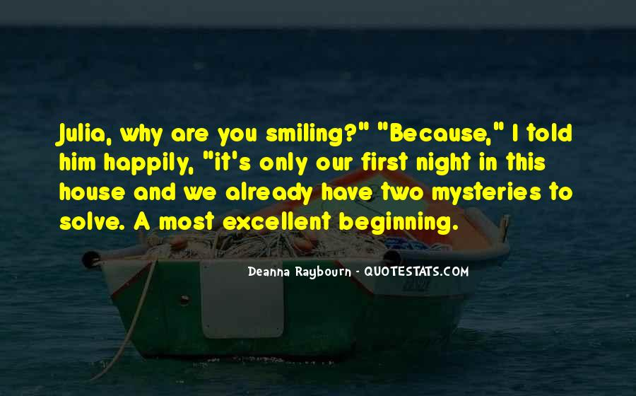 Quotes About Smiling Because Of You #26259