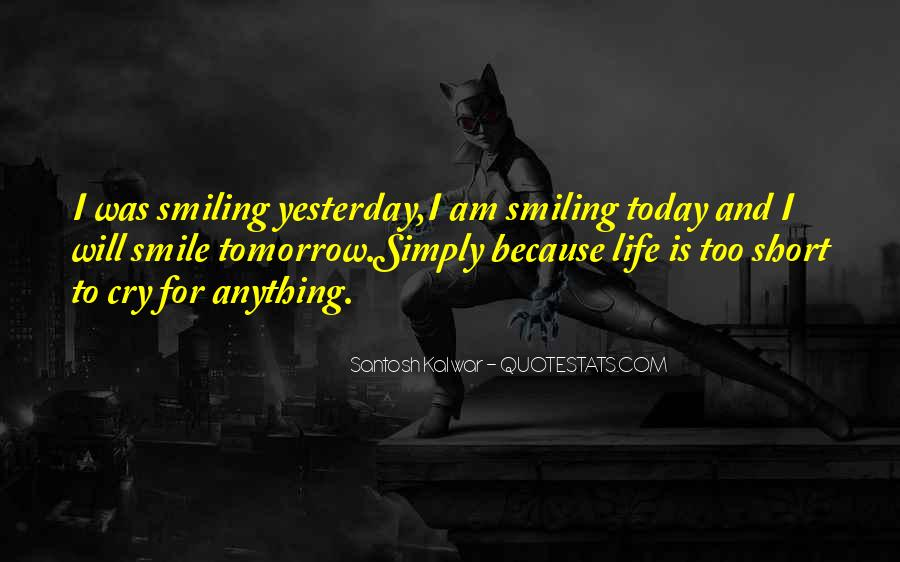 Quotes About Smiling Because Of You #300535