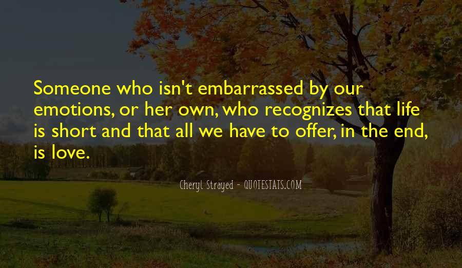 Quotes About Embarrassed #115710