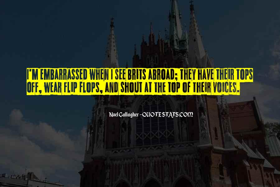 Quotes About Embarrassed #145928