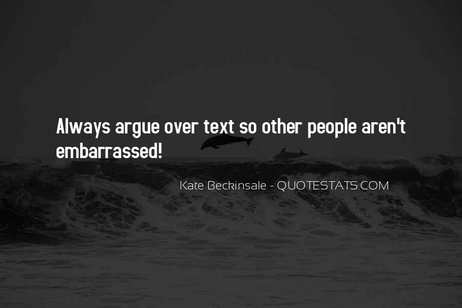 Quotes About Embarrassed #164429