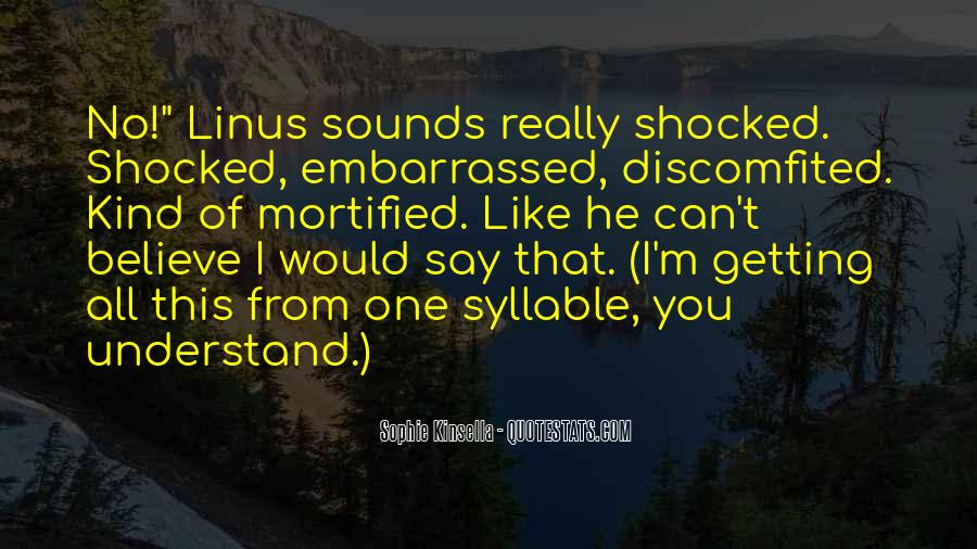 Quotes About Embarrassed #223934