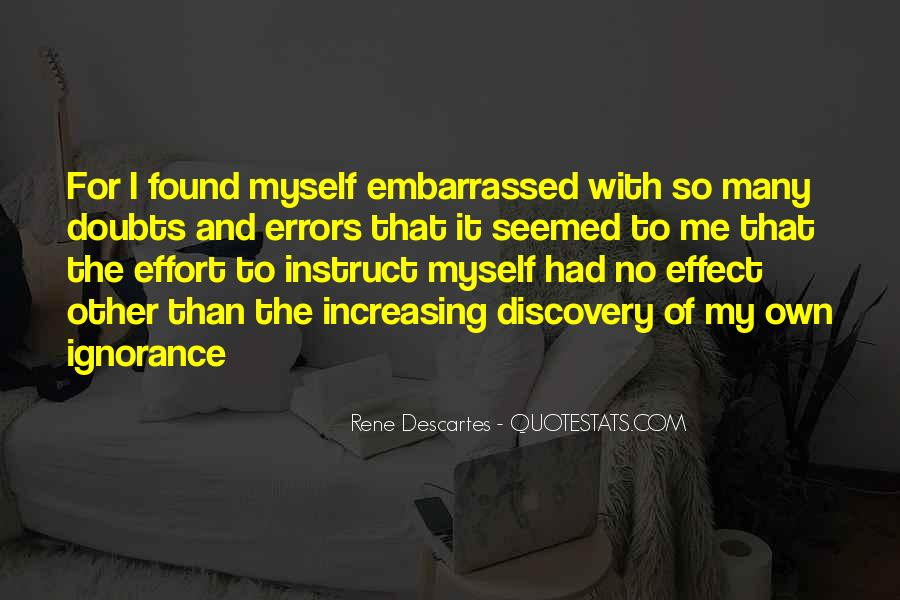 Quotes About Embarrassed #79672