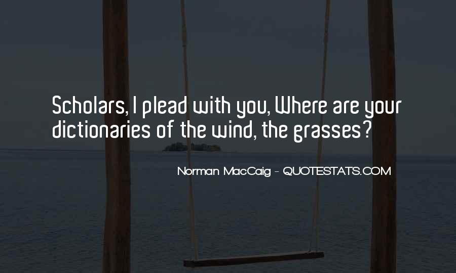 Quotes About Grasses #1519816