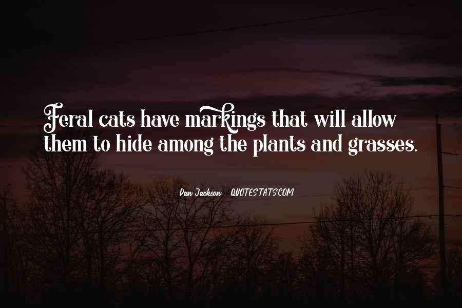 Quotes About Grasses #279504