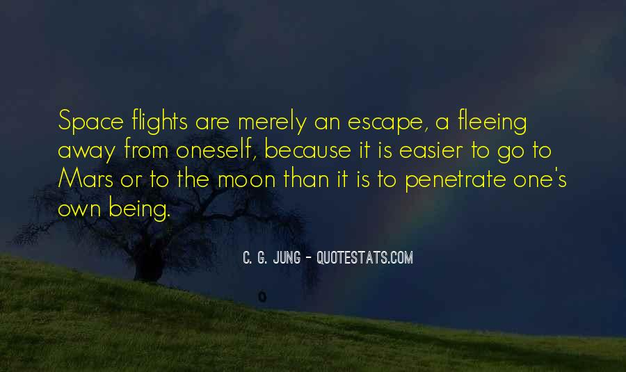 Quotes About Fleeing #1156885