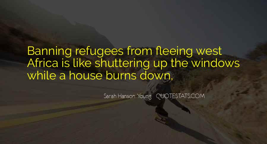 Quotes About Fleeing #172179