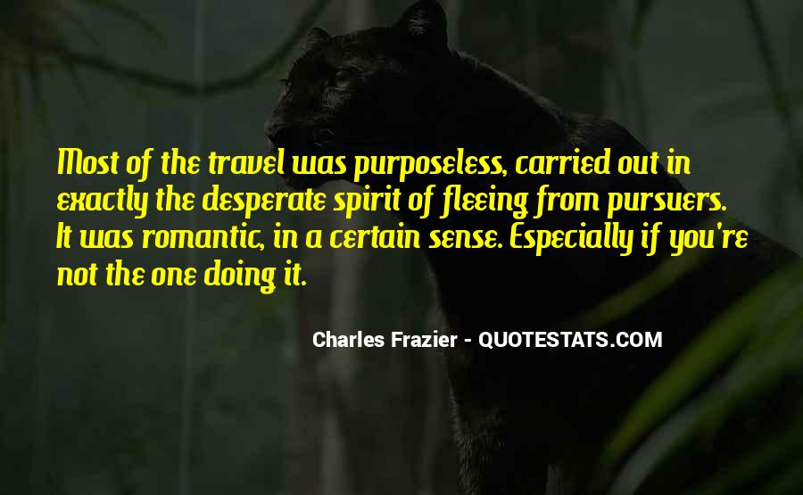 Quotes About Fleeing #239483