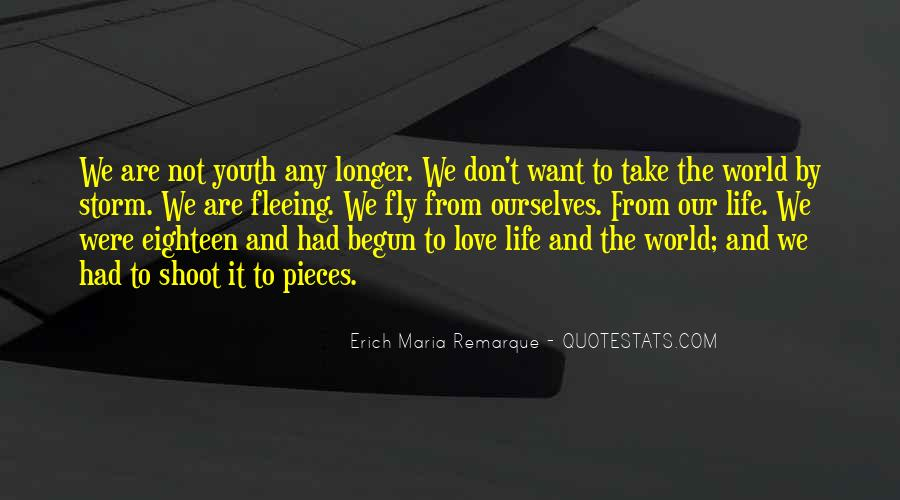 Quotes About Fleeing #556825