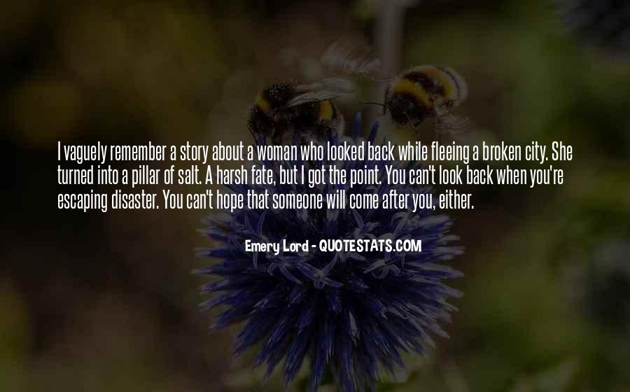 Quotes About Fleeing #601630