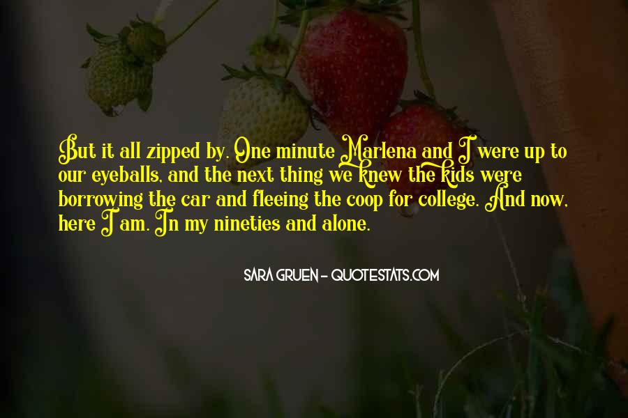 Quotes About Fleeing #776417