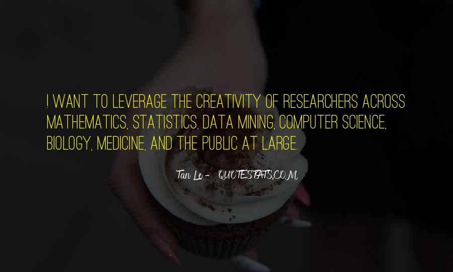 Quotes About Data And Statistics #1464995