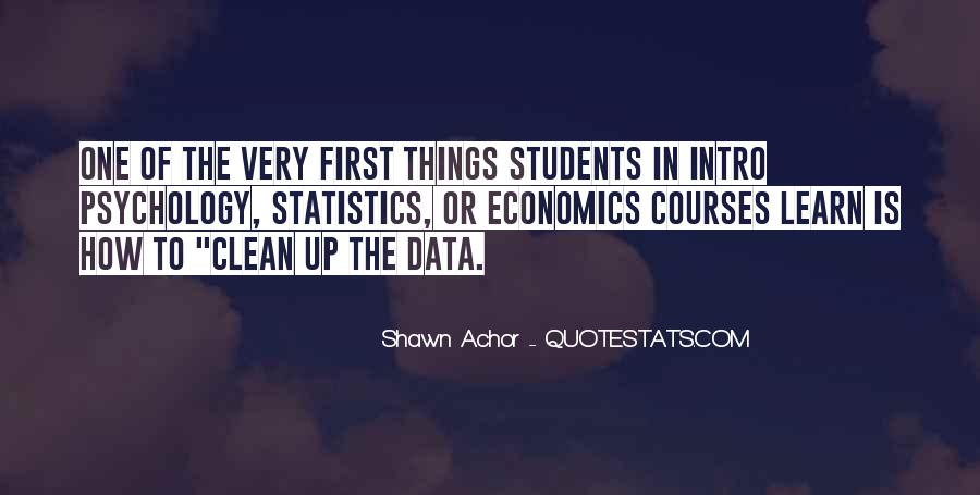 Quotes About Data And Statistics #1540022